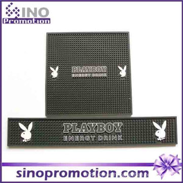 New Logo Printed Rubber Backed Bar Mat