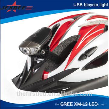 La venta caliente 300lm USB que carga la luz llevada de la bici