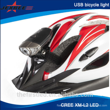 Hot Sell 300lm USB Charging Led vélo light