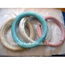 O fio revestido plástico (fábrica)