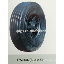 "solid rubber wheel 8""x2.5"""