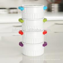Новая модель керамической кастрюле с крышкой