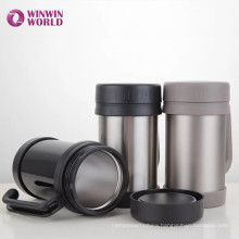 Amazon Hot Selling Double Wall Stainless Steel Mug With Handle