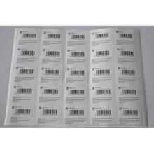 Impressão de Stickets com qualidade superior para etiquetas de vestuário