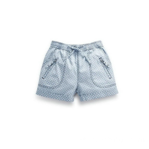 Lovely Polka Dot Children Shorts de algodón Denim Jeans