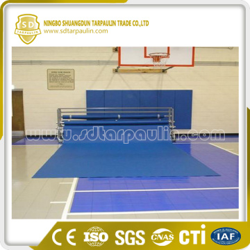 Couverture de champ de basket-ball de champ de basket-ball bleu