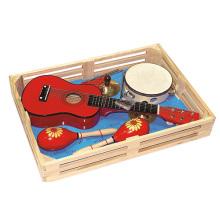 Wooden Guitar Toy Musical Instrument Set