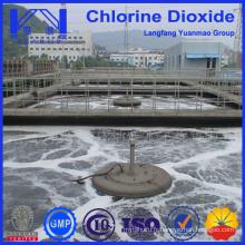 Tablette de dioxyde de chlore pour le traitement chimique des eaux usées