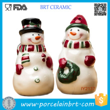 Adorable Ceramic Santa Claus Salt and Pepper Shaker