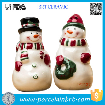 Adorable Ceramic Santa Claus Salt and Pepper Shaker