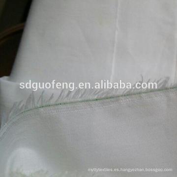 Fabricante de China 100% algodón 250TC ropa de cama / telas de algodón orgánico ropa de cama de satén
