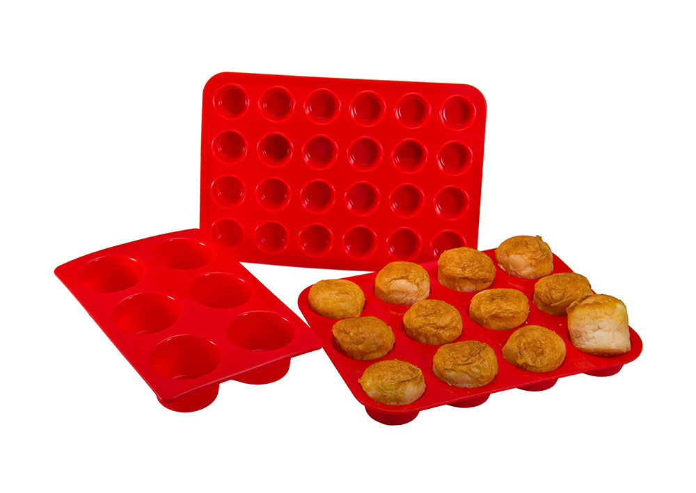 12 Cups Silicone Muffin Mold