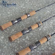 Оптовые продажи Корк ручки графит зимний лед рыболовная удочка