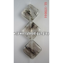 Gemstone Black Quartz beads