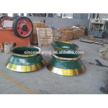 Mantle Mn13Cr2 Mn18Cr2 M22Cr2 High Chrome Cr26 Cr20Mo Cr15Mo Martensitic Manganese Ceramic PE Seiries HP SERIES C SERIES