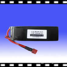 25c High Rate Lithium Polymer Battery Pack for Electronic Toy/ Lip/Li-Po Battery Pack 14.8V 2200mAh (803496) 4S1P