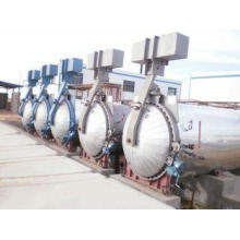 Industrial Pressure Wood Autoclave Equipment For Rubber Vul