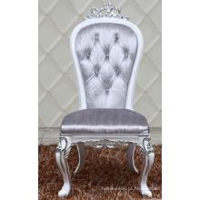 Cadeira de jantar barroco de madeira de design novo