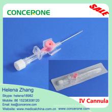 IV Canule (type à ailettes) sans cathéter IV