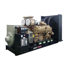 50Hz 350kw Open Type Mtu Engine Diesel Generator Set