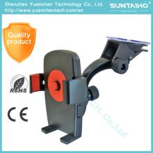 Suporte universal do telefone do carro do suporte do suporte do suporte do pára-brisa da sucção da rotação 360