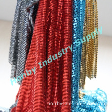 Fashion Shining Colorful Metal Sequin Cloth