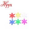 HYYX крупным оптом высокого качества 25mm большой снежинки/звезды конфетти