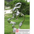 Carving Large Stainless Steel Sculpture