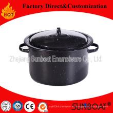 16qt Enamel Stock Pot / Porcelana Menaje de cocina
