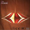 Ручная роспись цветастого дерева Rhombus Hollow on Ceiling Lighting