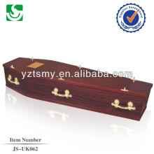 Cercueil de style européen de simple fournisseur chinois vente directe