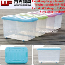 Durable plastic food storage box mould with high quality plastic injection food storage box mold making