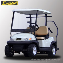 Chariot de golf électrique à 2 places de vente chaude pour terrain de golf