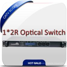 Interruptor Fibra Óptica com Porta RF