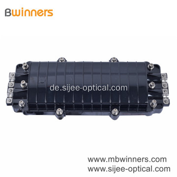 96 Fasern 2 in 2 out Inline Fiber Optic Splice Closure