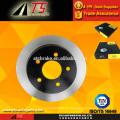 OEM 55038 rotor de freno de disco de freno trasero fabricante freno de disco de alto rendimiento 15704667 para GM