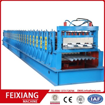 Metal Decking Floor Sheet Roll Forming Machine