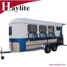 Remolque usado de 3 caballos remolque del caballo para la venta