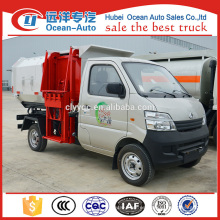 2015 Changan nueva condición pequeña capacidad de transferencia camión de basura