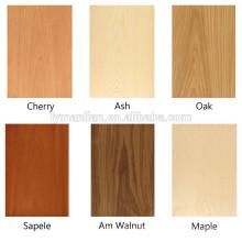 Chapas de madera de ingeniería Chapas de muebles