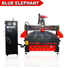 ELE- 1530 linear atc auto-tool changer cnc router for aluminum,wood processing