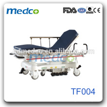 hospital medical stretcher trolley transport gurney patient trolley medical stretcher bed TF004