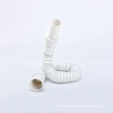 Bath Tub White Basin Sink Waste Pipe Trap 1 1/4' or 1 1/2'  Flexible Drain Pipe For Bathtub