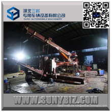 Carro de remolque para servicio pesado con rotor giratorio de 50 toneladas