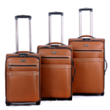 new design leather trolley bag