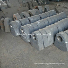 OEM Wear Resistant Part High Chrome Hammer Crusher Parts