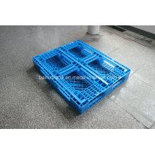 1100 * 1100 * 125 palette en plastique de chariot élévateur de plateau en plastique pour la Chine