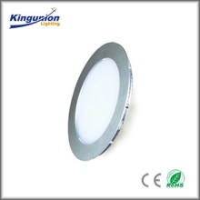 2015 High Quality AC110V/220V 9W Led Panel Light Round Series