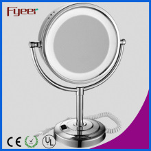 Fyeer Free Standing Table Makeup Mirror with LED Light