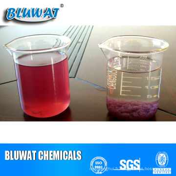 Produits chimiques de décoloration pour le traitement des eaux usées textiles